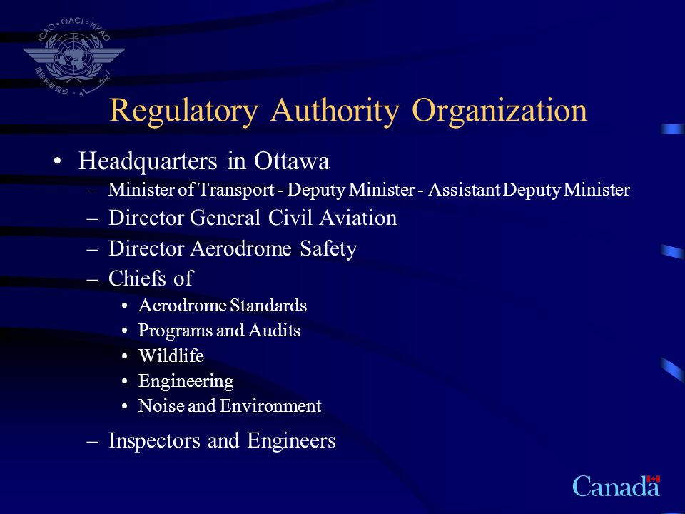 Regulatory Authority Organization