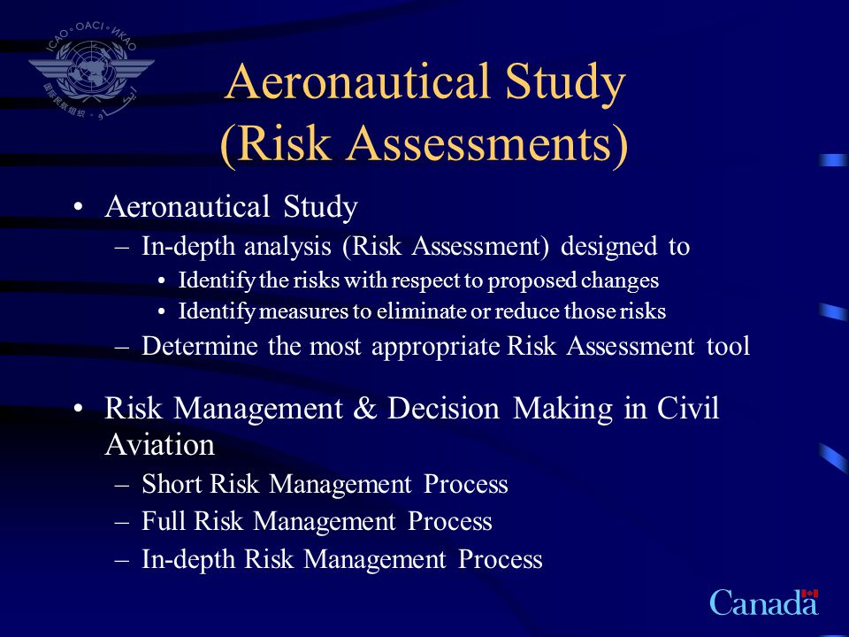 Aeronautical Study (Risk Assessments)