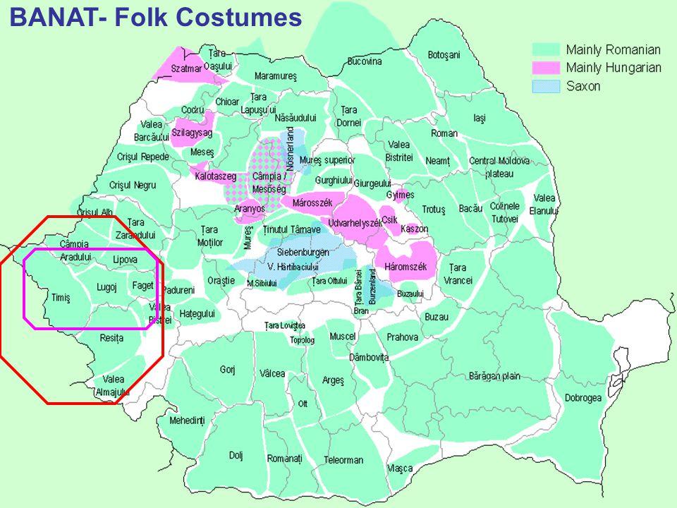 BANAT- Folk Costumes prof. dr. Daniela Văleanu,