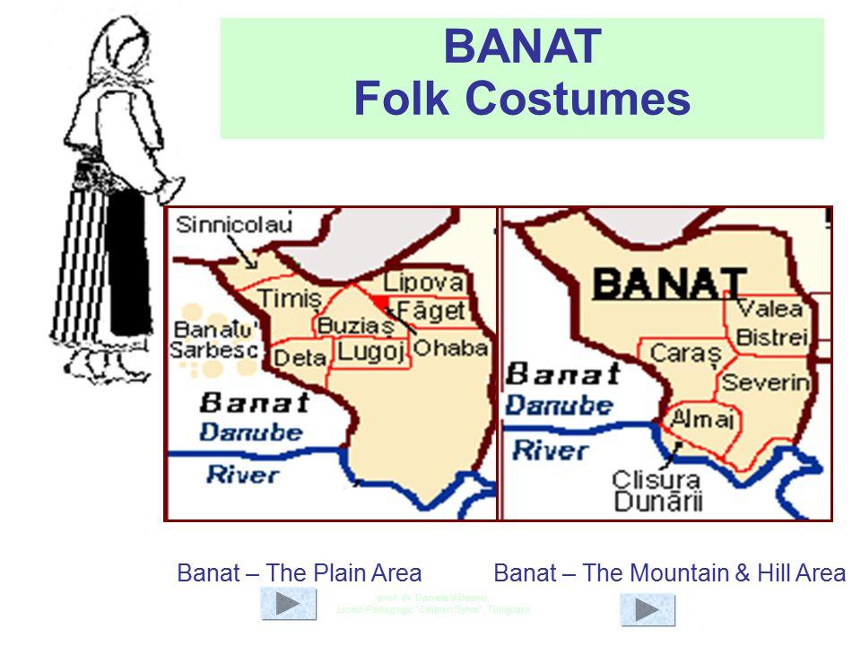 BANAT Folk Costumes Banat – The Plain Area