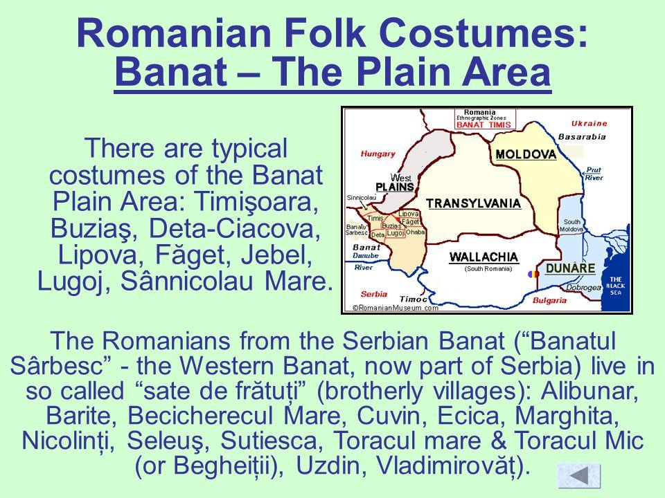 Romanian Folk Costumes: