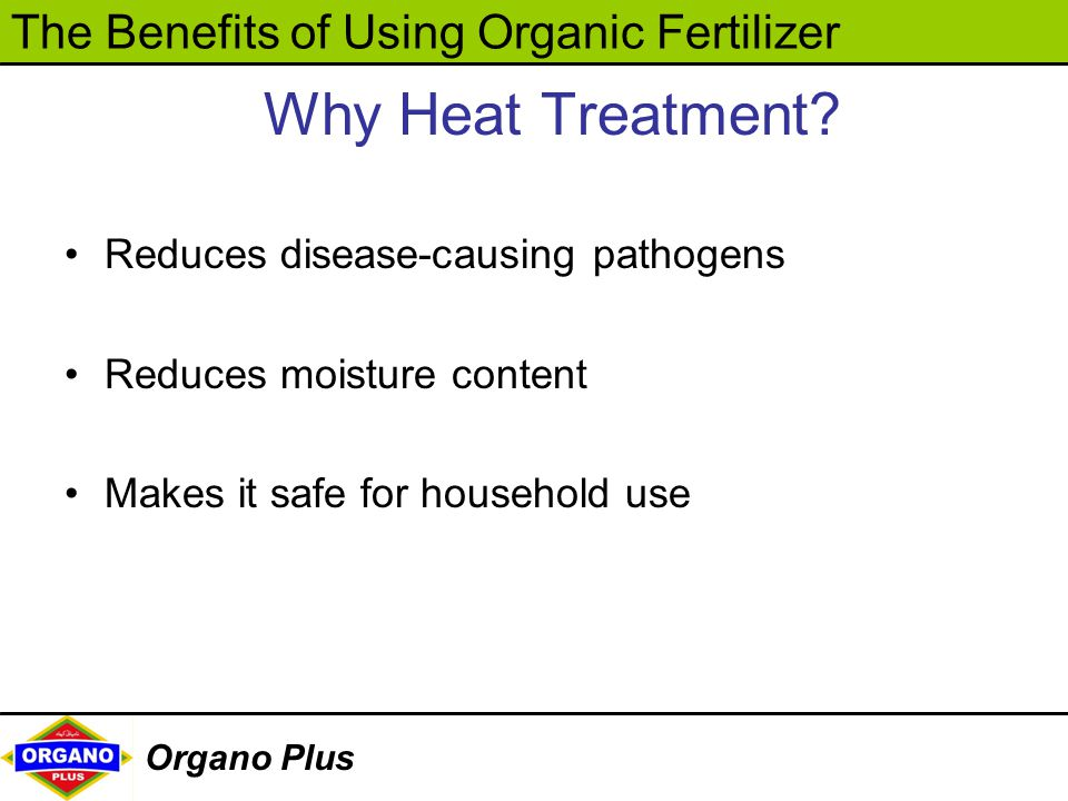 Why Heat Treatment Reduces disease-causing pathogens