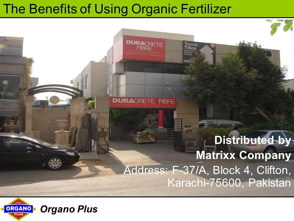 Distributed by Matrixx Company Address: F-37/A, Block 4, Clifton, Karachi-75600, Pakistan