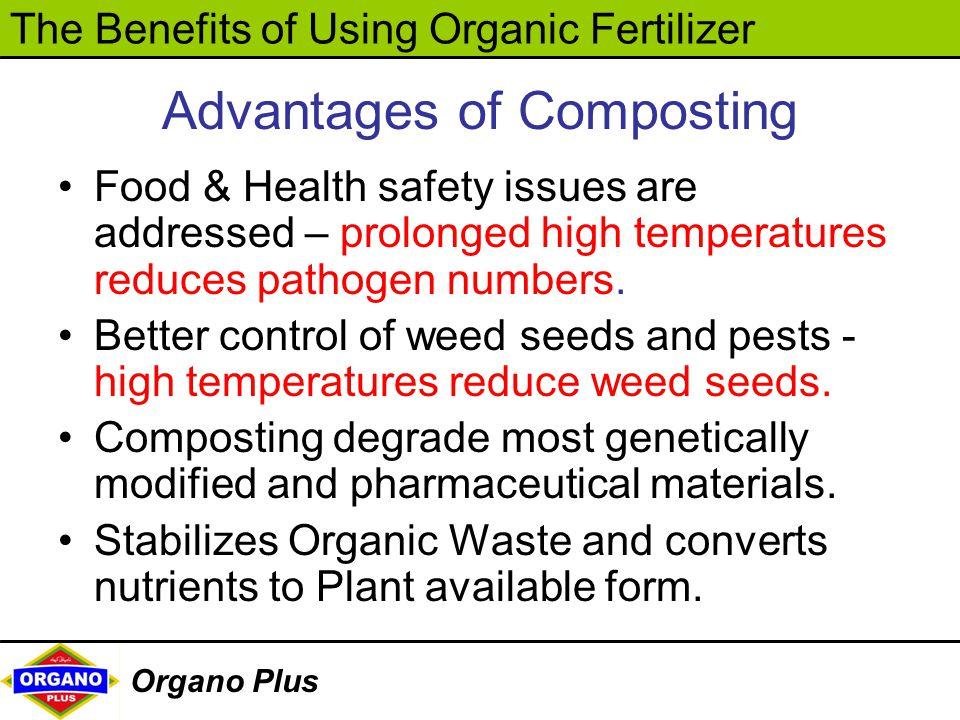 Advantages of Composting