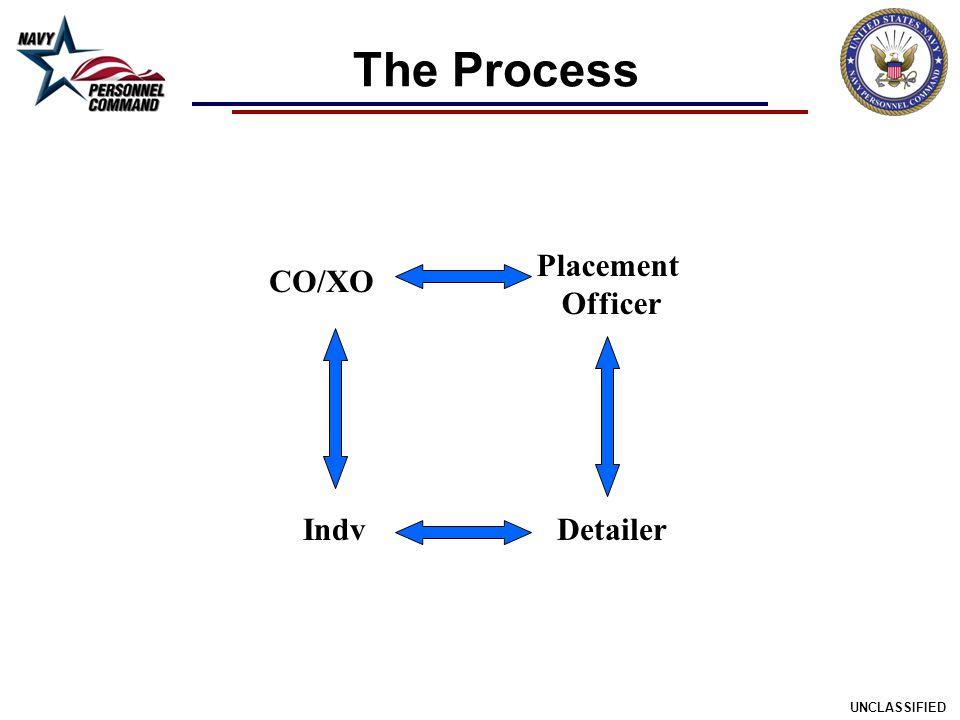 The Process Placement Officer CO/XO Indv Detailer