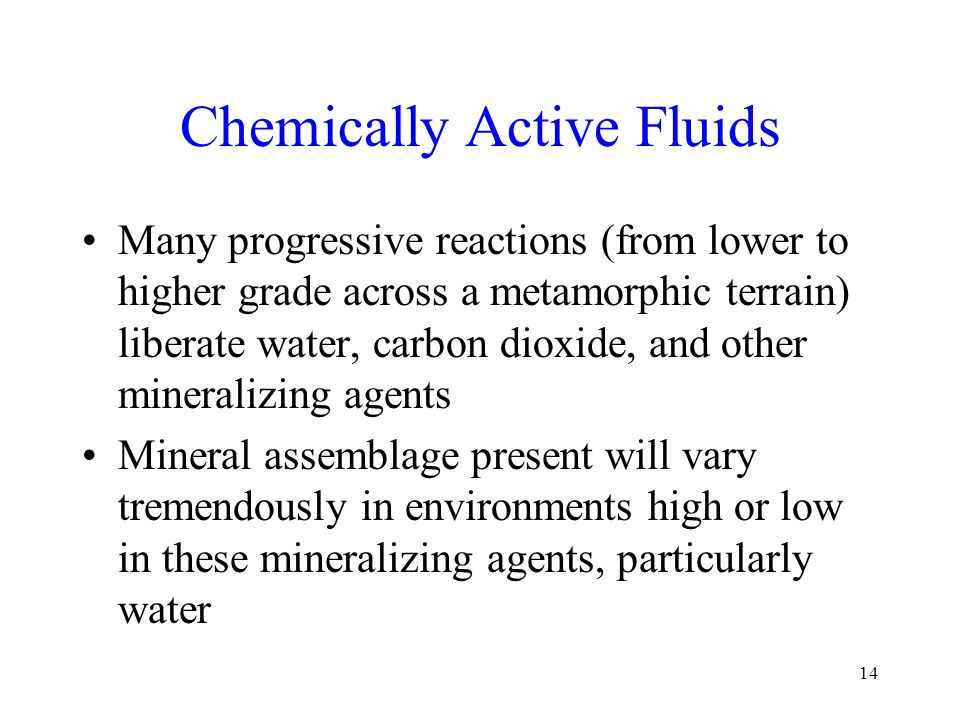 Chemically Active Fluids