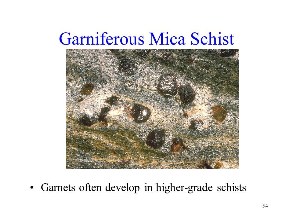 Garniferous Mica Schist