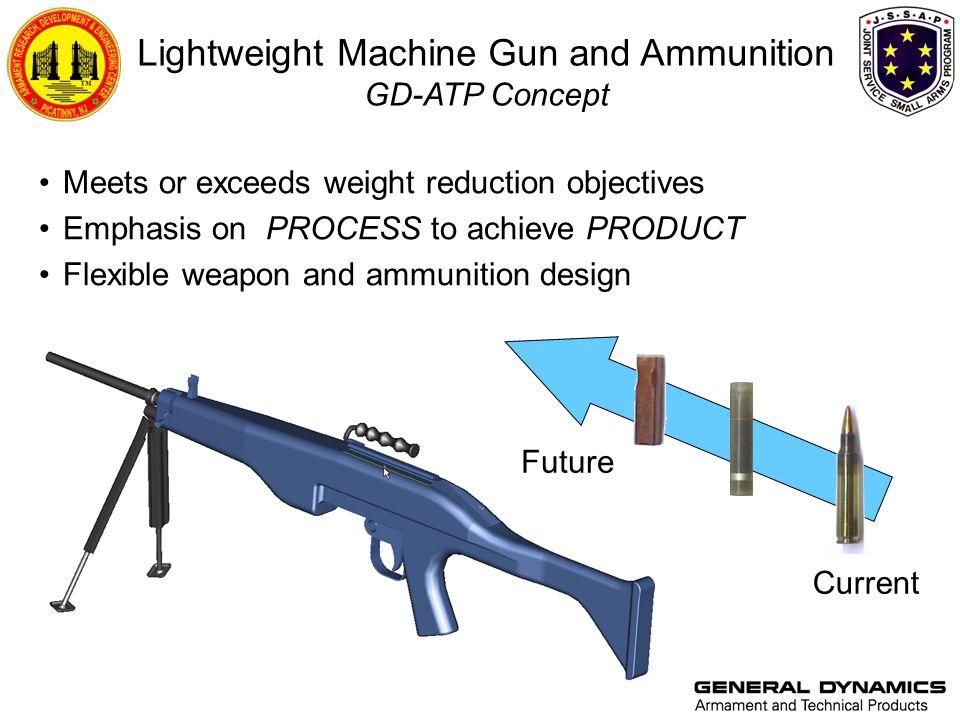 Lightweight Machine Gun and Ammunition GD-ATP Concept