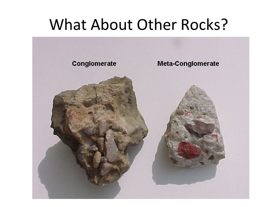 What About Other Rocks