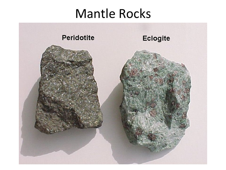 Mantle Rocks
