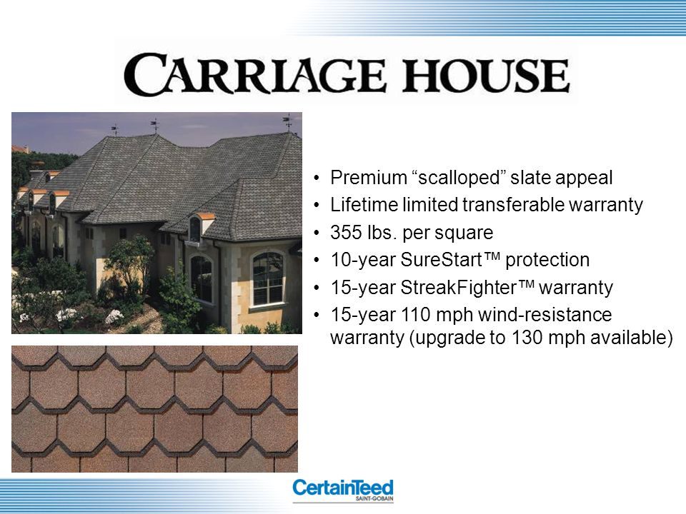 Premium scalloped slate appeal