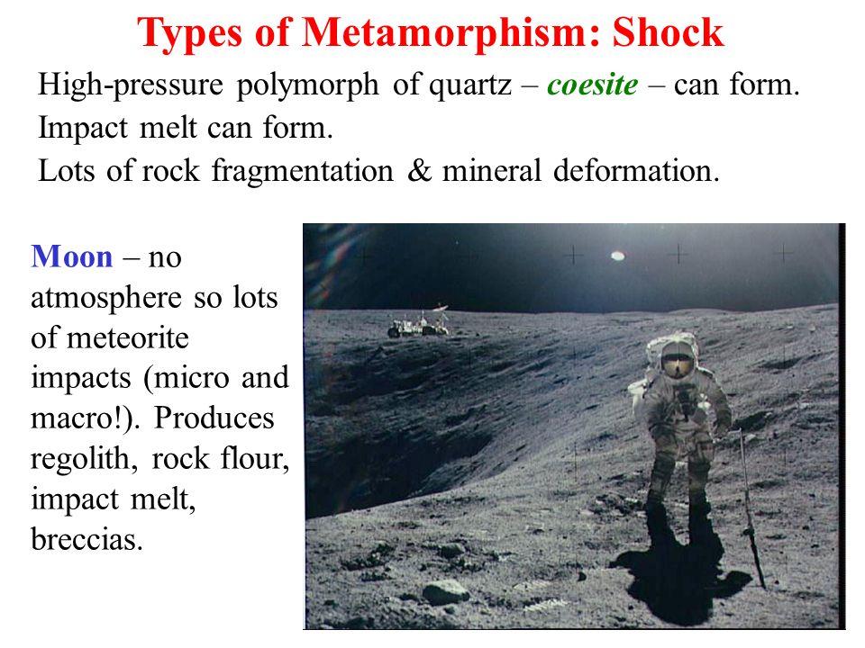 Types of Metamorphism: Shock