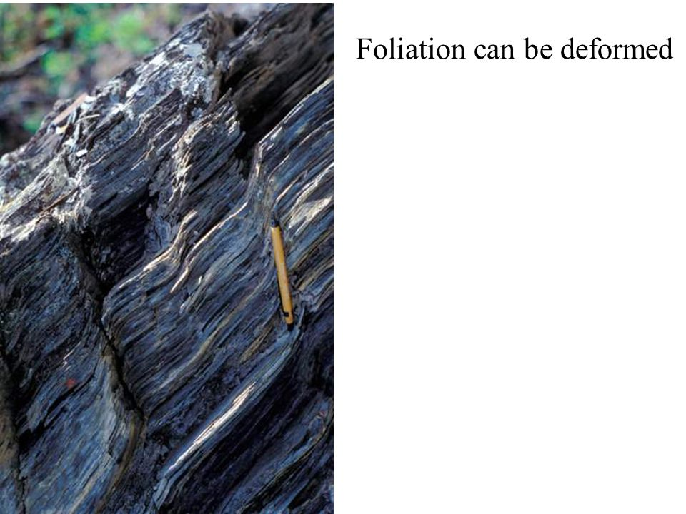 Foliation can be deformed