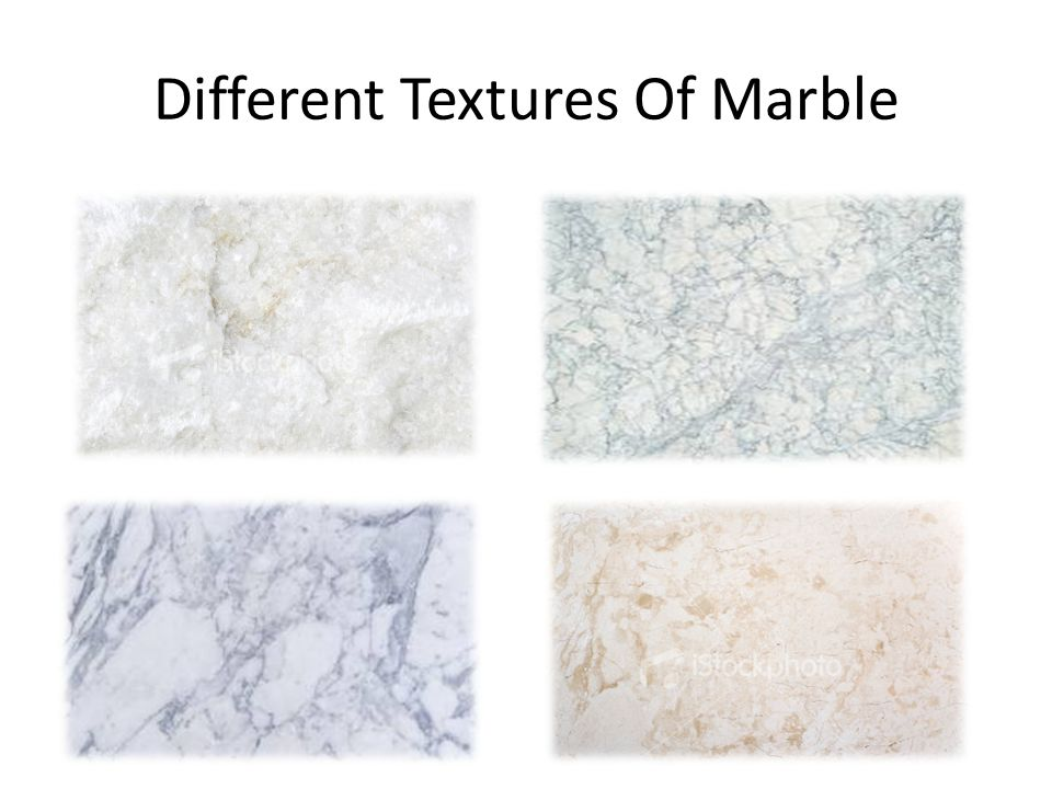 Different Textures Of Marble