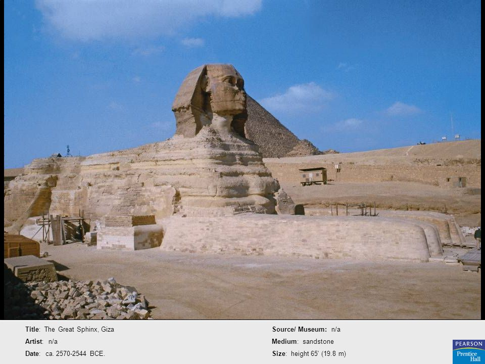 Title: The Great Sphinx, Giza