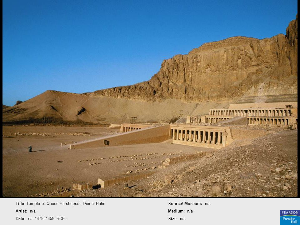 Title: Temple of Queen Hatshepsut, Deir el-Bahri