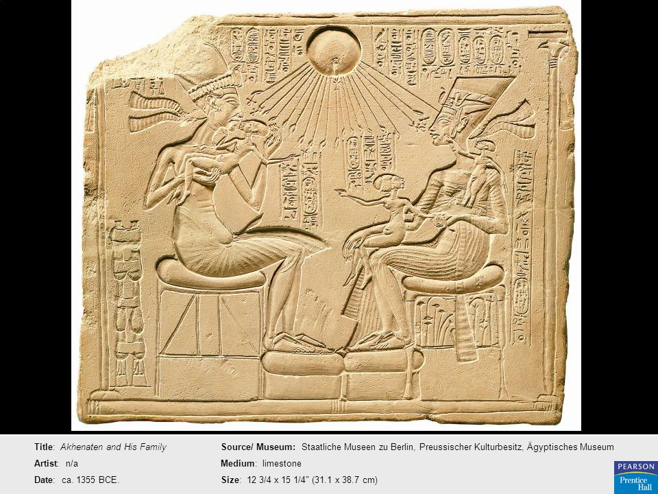 Title: Akhenaten and His Family