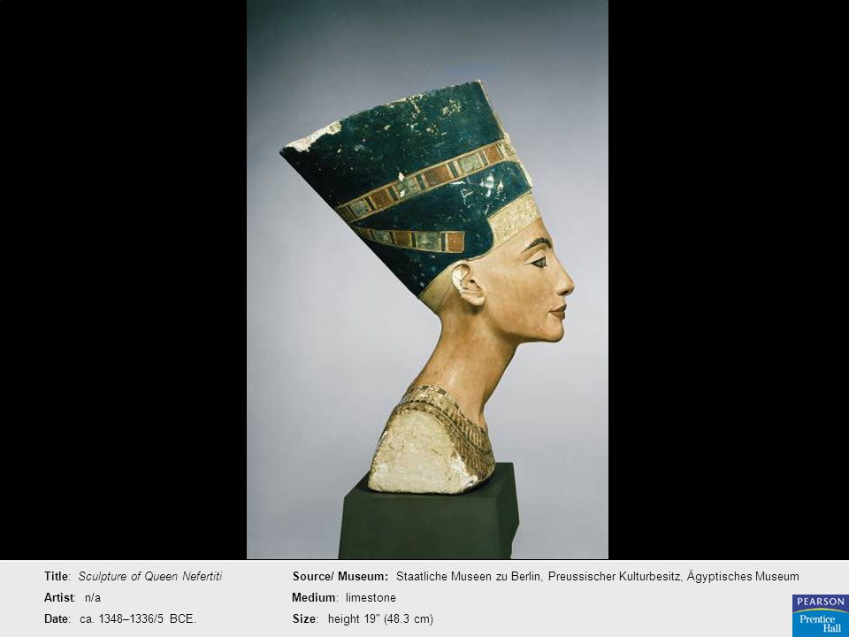 Title: Sculpture of Queen Nefertiti