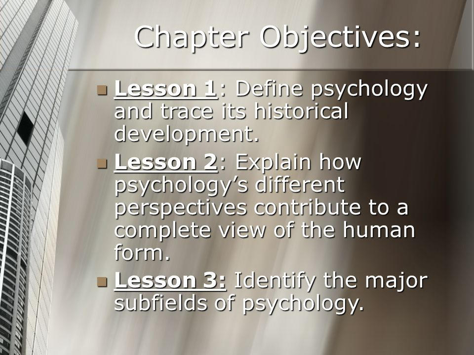 historical development of psychology This historical account of sa psychology spans over hundred years of its  with  major international psychologists during the early development of psychology.