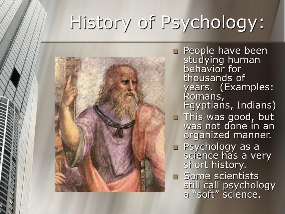 History of Psychology: