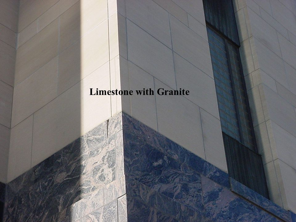 Limestone with Granite