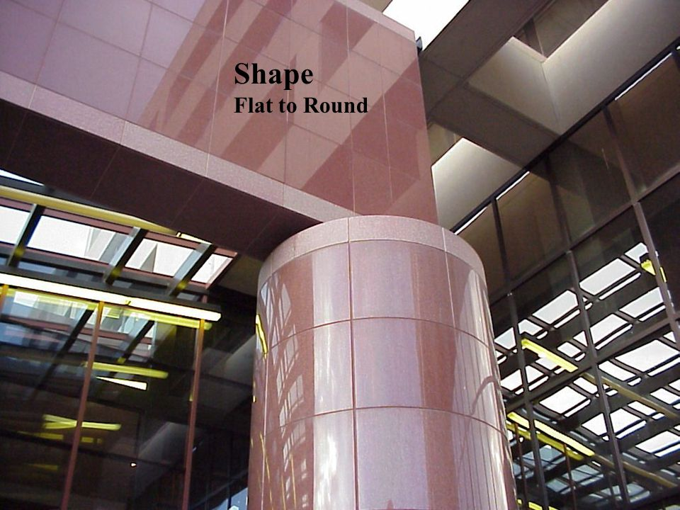 Shape Flat to Round