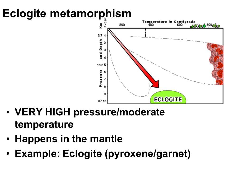 Eclogite metamorphism