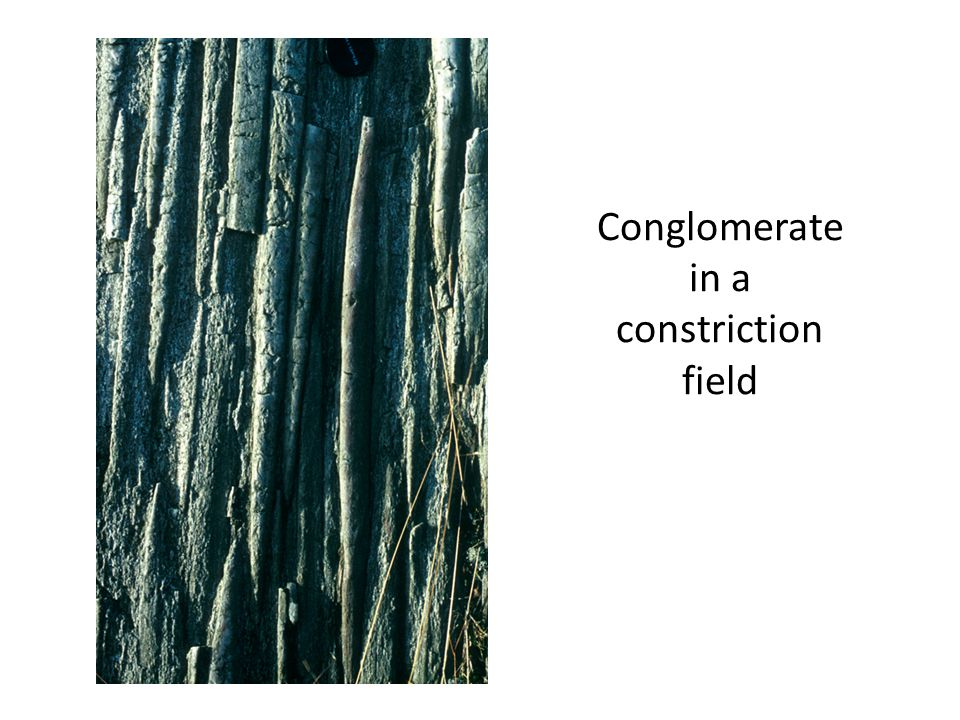 Conglomerate in a constriction field