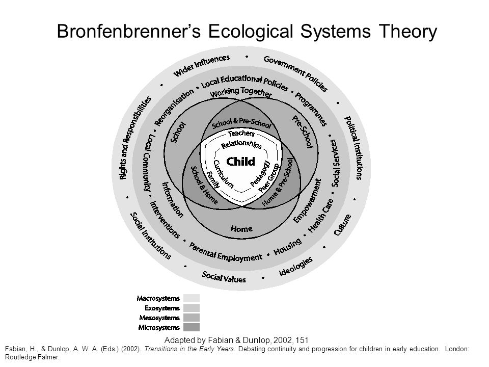 Bronfenbrenner's Ecological Systems Theory