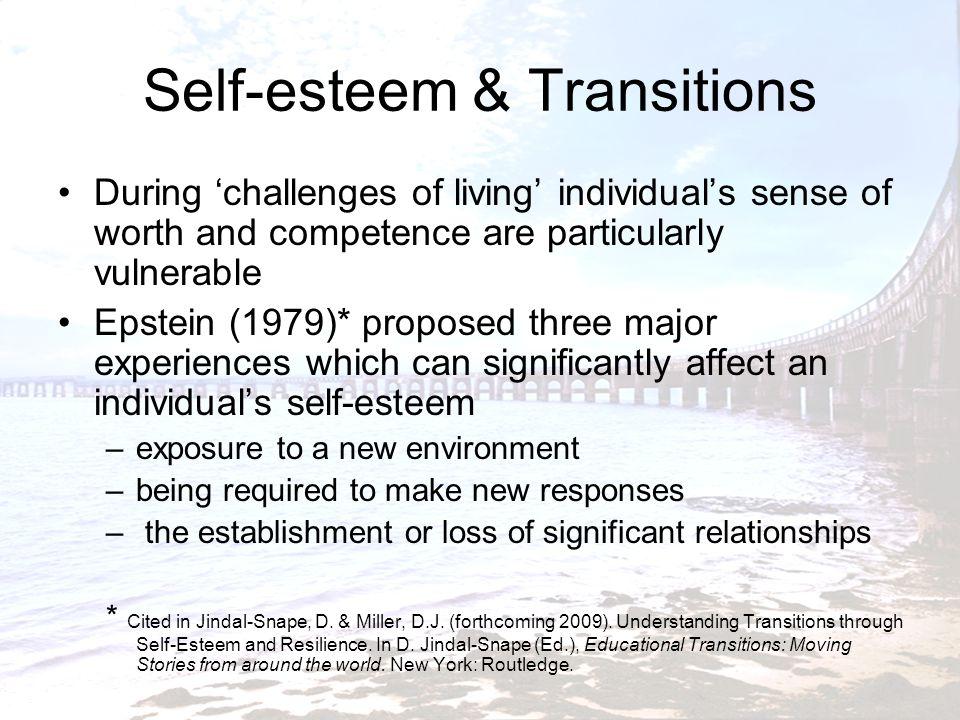 Self-esteem & Transitions