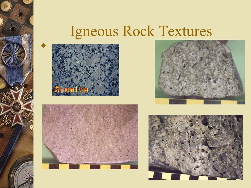 Igneous Rock Textures