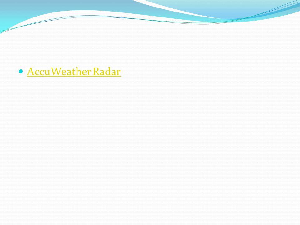 AccuWeather Radar