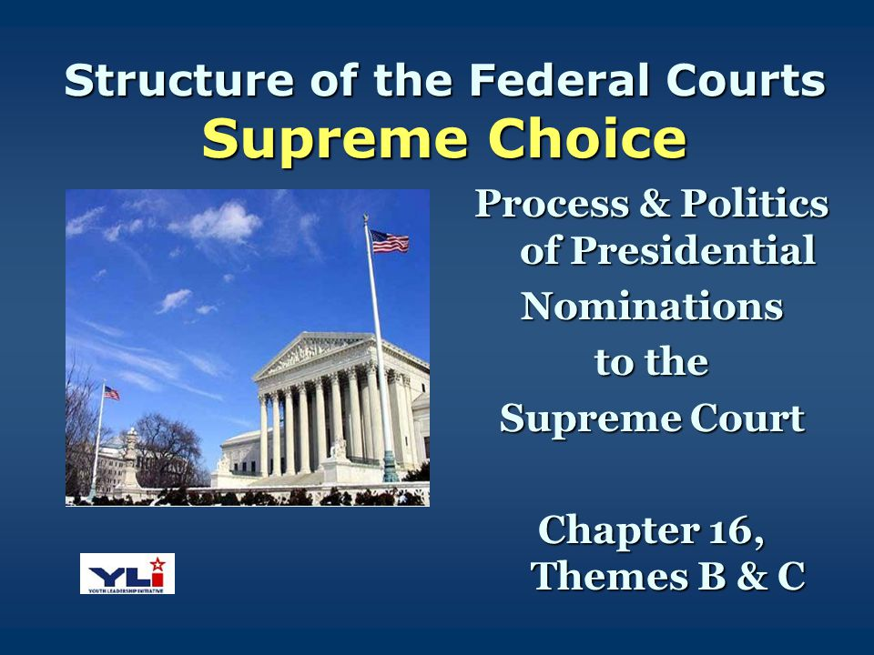 Structure of the Federal Courts Supreme Choice