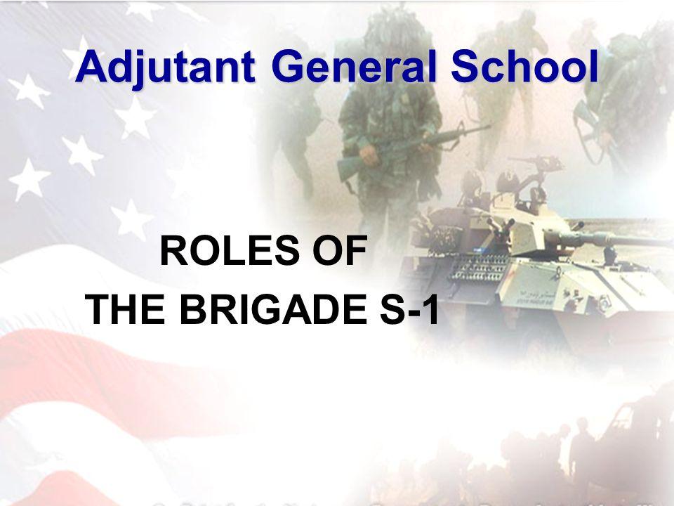 Adjutant General School