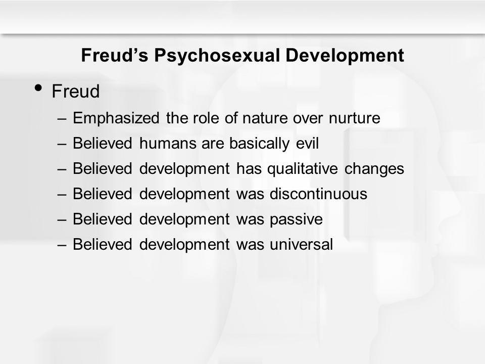 Freud's Psychosexual Development