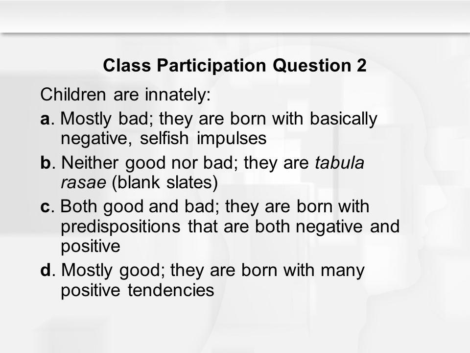 Class Participation Question 2