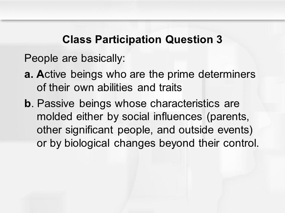 Class Participation Question 3