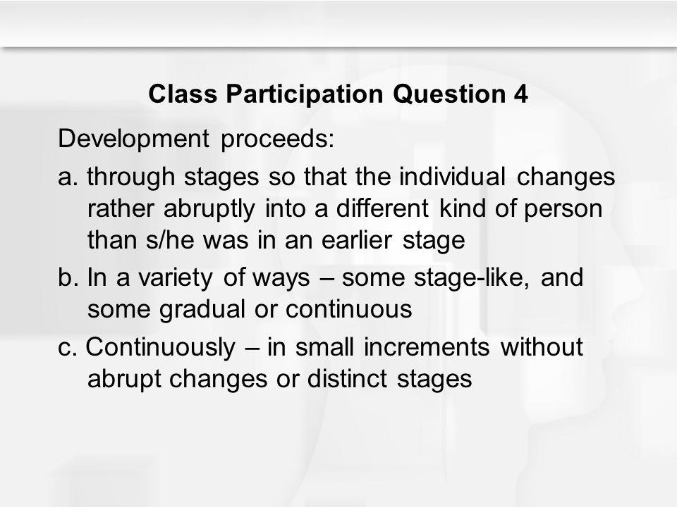 Class Participation Question 4