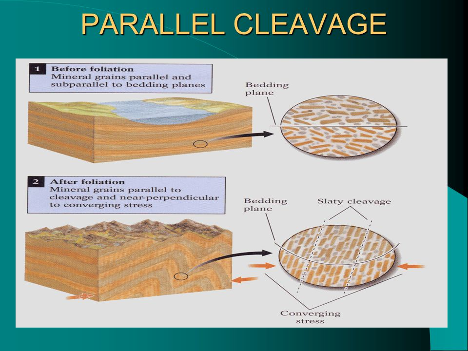 PARALLEL CLEAVAGE