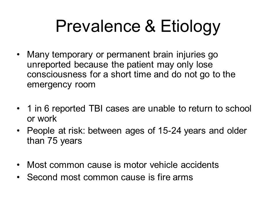 Prevalence & Etiology