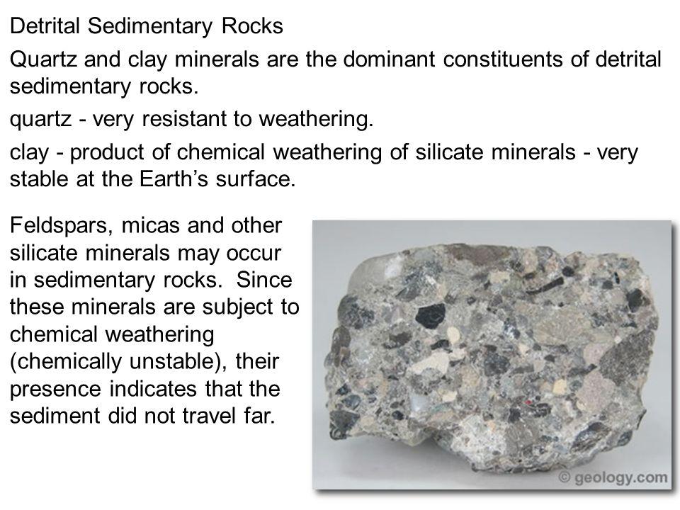 Detrital Sedimentary Rocks