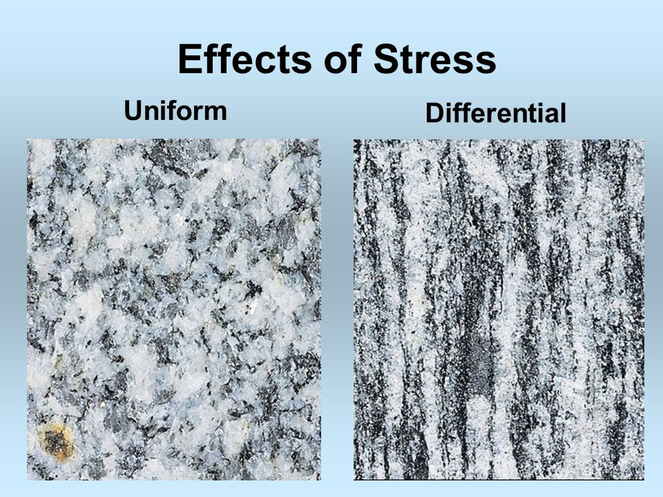 Effects of Stress Uniform Differential