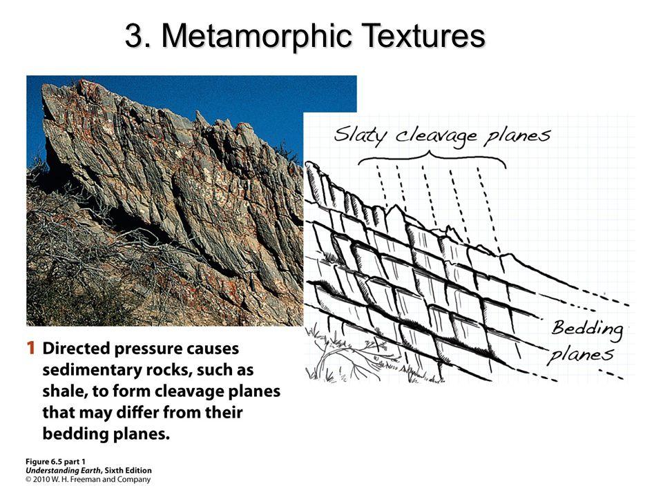 3. Metamorphic Textures