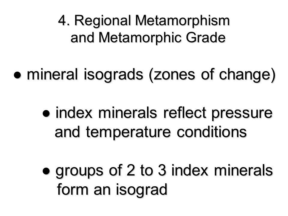 4. Regional Metamorphism