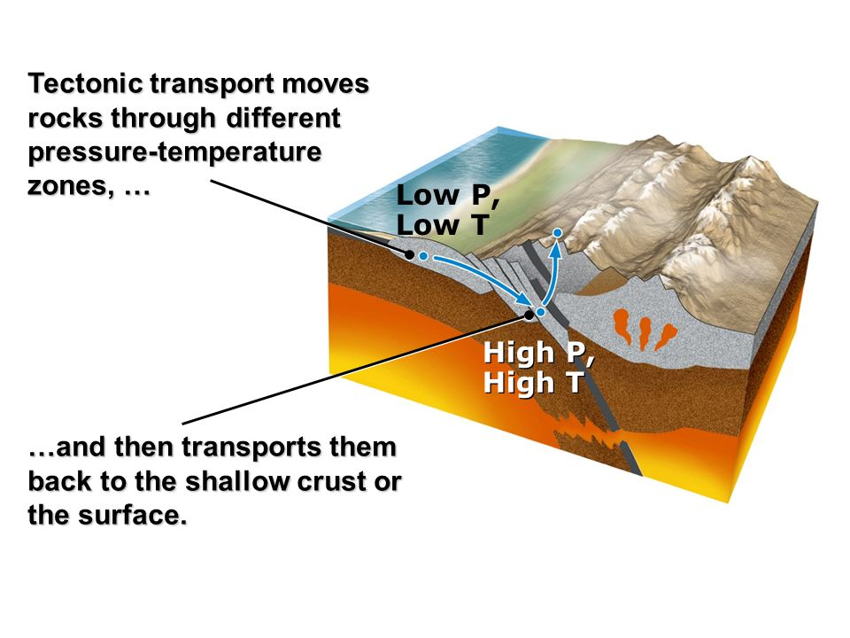Tectonic transport moves