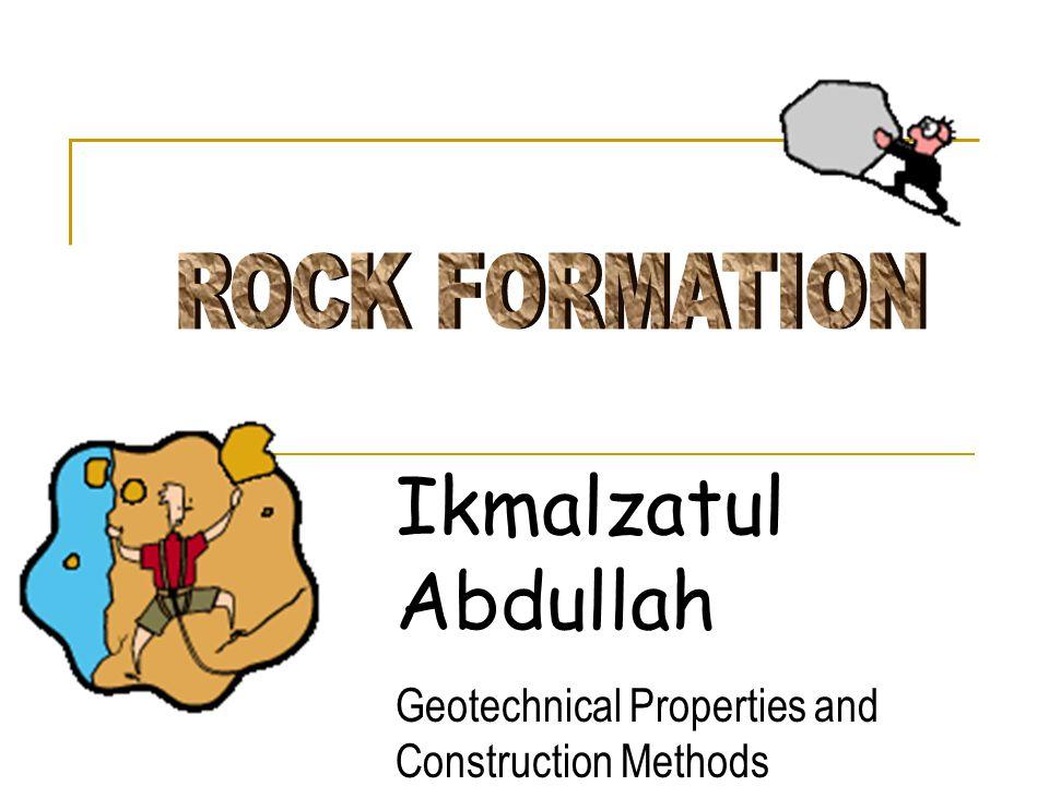 Ikmalzatul Abdullah ROCK FORMATION