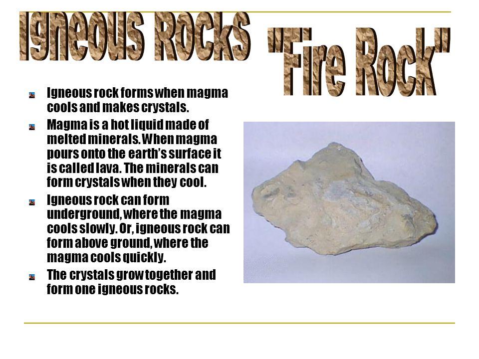 Igneous Rocks Fire Rock