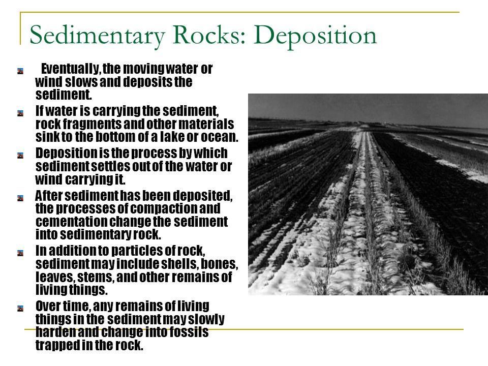 Sedimentary Rocks: Deposition