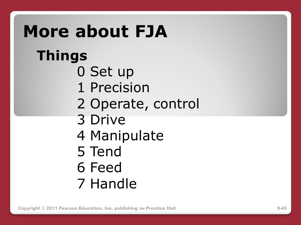 More about FJA Things. 0 Set up. 1 Precision. 2 Operate, control