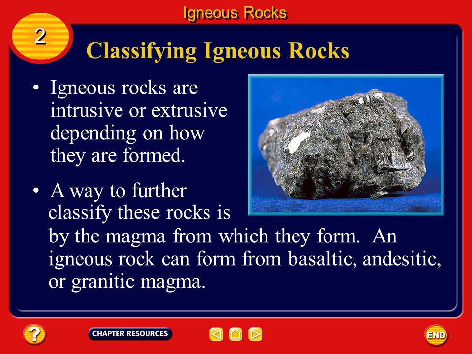 Section 1: The Rock Cycle Chapter: Rocks Section 2: Igneous Rocks ...